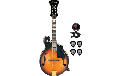 Ibanez M522SBS F-Style Mandolin (Brown Sunburst High Gloss)